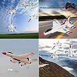 Wotryit FX-823 2.4G 2CH RC Airplane Glider Remote