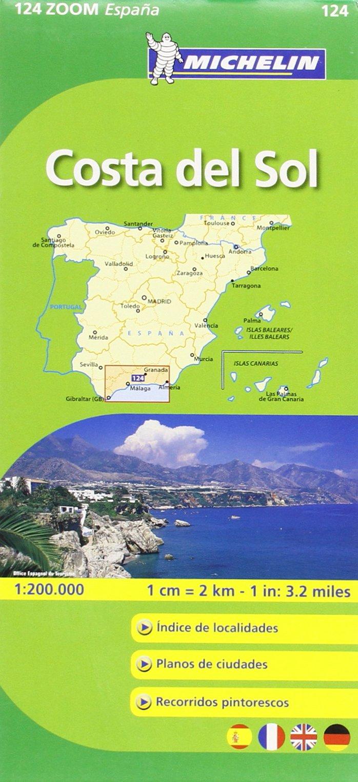 Mapa Zoom Costa del Sol (Mapas Zoom Michelin): Amazon.es: Vv.Aa, Vv.Aa: Libros