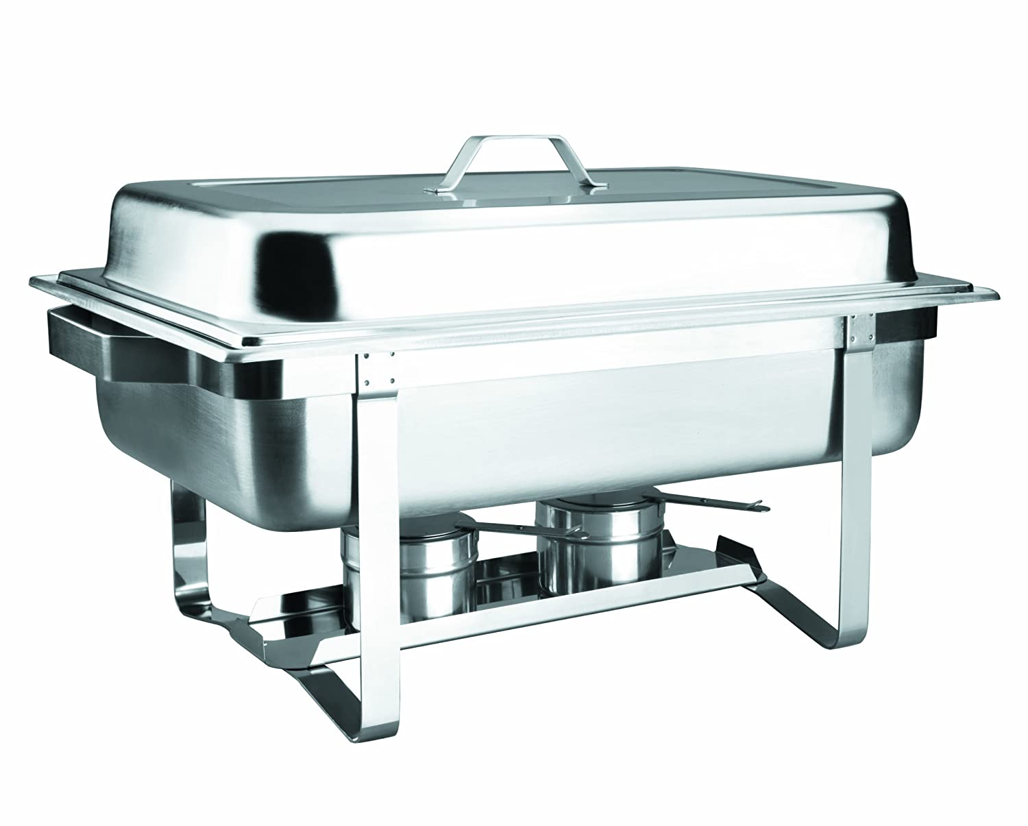 Lacor Basic 69110 - Chafing Dish gn 1/1, con tapa inoxidable, 8,5 litros Lacor_69110