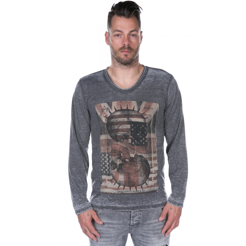 Tee Shirt Deeluxe Spikson Charcoal