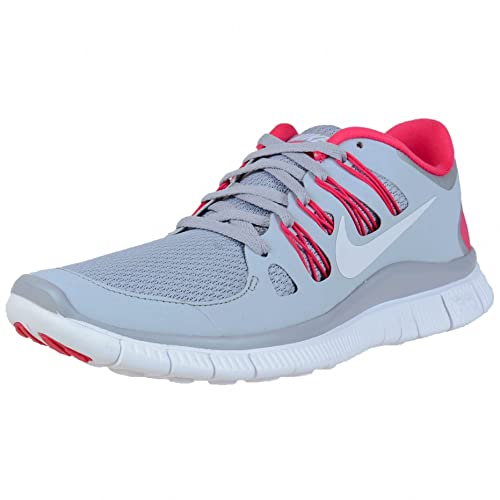the latest 9467d 09998 Nike Free 5. 0+ Womens Running Shoes 580591-061 Wolf Grey Pink Force-White  (11)  Amazon.in  Shoes   Handbags