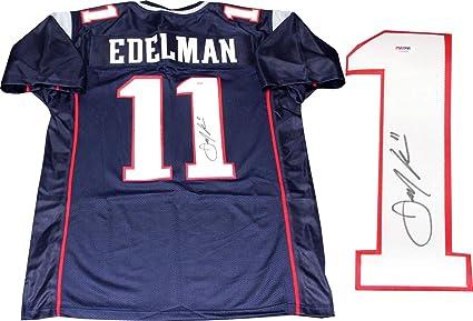 Julian Edelman Autographed New England Patriots Custom Jersey (PSA ...