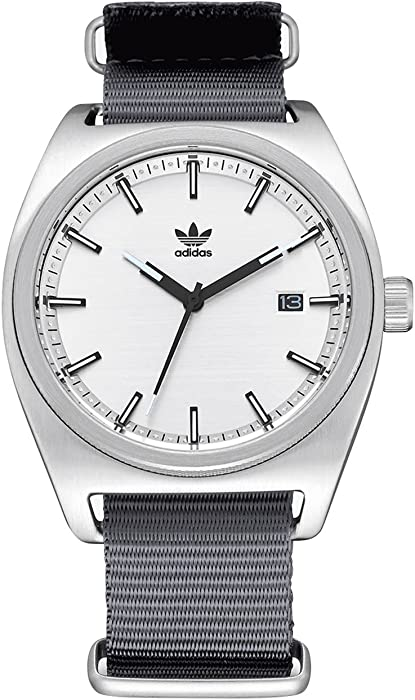 adidas Relojes Process_W2.Nato Correa De Nylon De Los Hombres, 20 Mm Anchura (0,40 Mm)