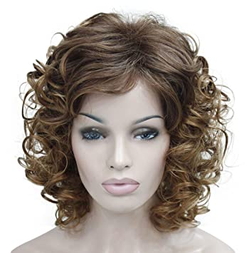 Short Curly Hair With Bangs And Layers 95