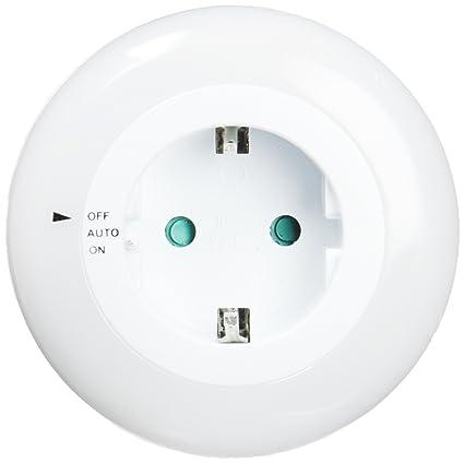 ElectroDH 60248B DH 60.248/B LUZ Sensor D¿A/Noche + Base Enchufe