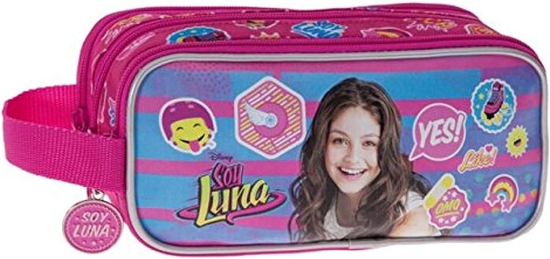 Disney Yo Soy Luna Neceser de Viaje, 1.98 litros, Color Rosa: Amazon.es: Equipaje