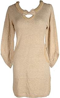 Grisodonna Style Damen Lagenlook Wolle Winter Pullover