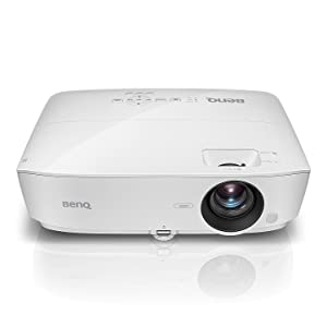 BenQ MH535FHD 1080P Home Theater Projector | 3600 Lumens for Lights on Enjoyment | High Contrast Ratio for Darker Blacks | Keystone and 1.2x Zoom for Flexible Setup