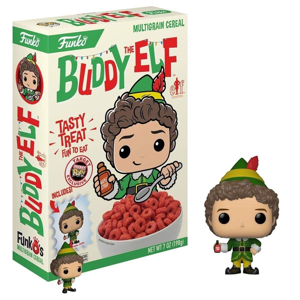 Amazon.com: Batgirl FunkO's Cereal With Exclusive Pocket Pop: