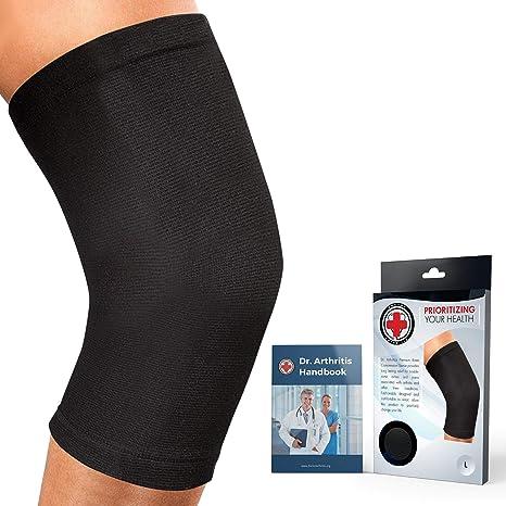 Fitness Sport Rehab Dr Med Neoprene Elasticated Compression Support Knee