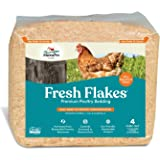 Manna Pro Fresh Flakes | Chicken Coop Bedding | Pine Shavings for Chicken Bedding | 3.5 Cubic Feet