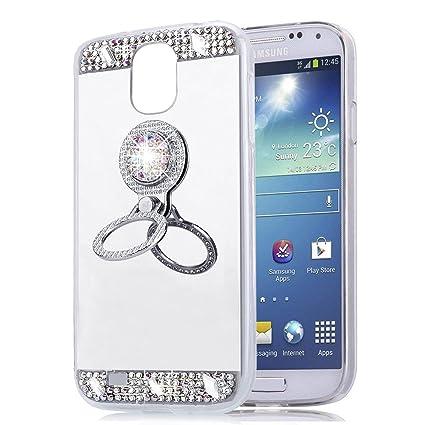 EINFFHO Galaxy S4 Neo, Galaxy S4 Espejo Funda, Cristal ...