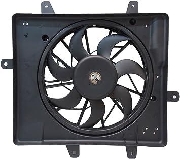 Radiator And Condenser Fan For Chrysler PT Cruiser  CH3115118
