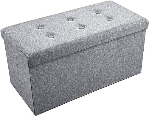 Sable Storage Ottoman Folding Bench
