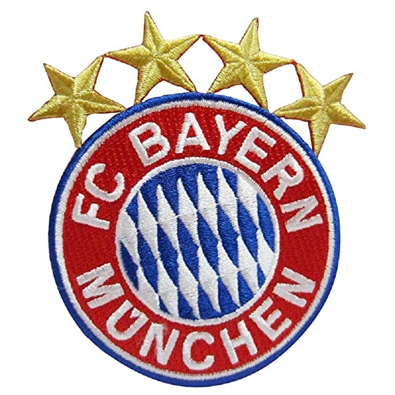 Amazon Fc Bayern Munchen Embroidered Patch Iron On Clothing