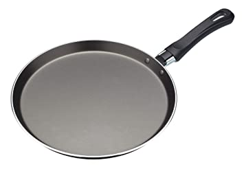 Amazon Com Kitchencraft Aluminium Non Stick Crepe Pan With Printed