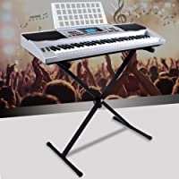 Electric Keyboard Music Piano Portable Electronic Digital Paino with Microphone