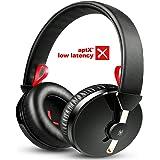 【AptX-ll&低音モデル】OneAudio テレビ ヘッドホン Bluetooth Aptx-LowLatency 低音強化 遅延なし TV ヘッドホン ワイヤレス 密閉型