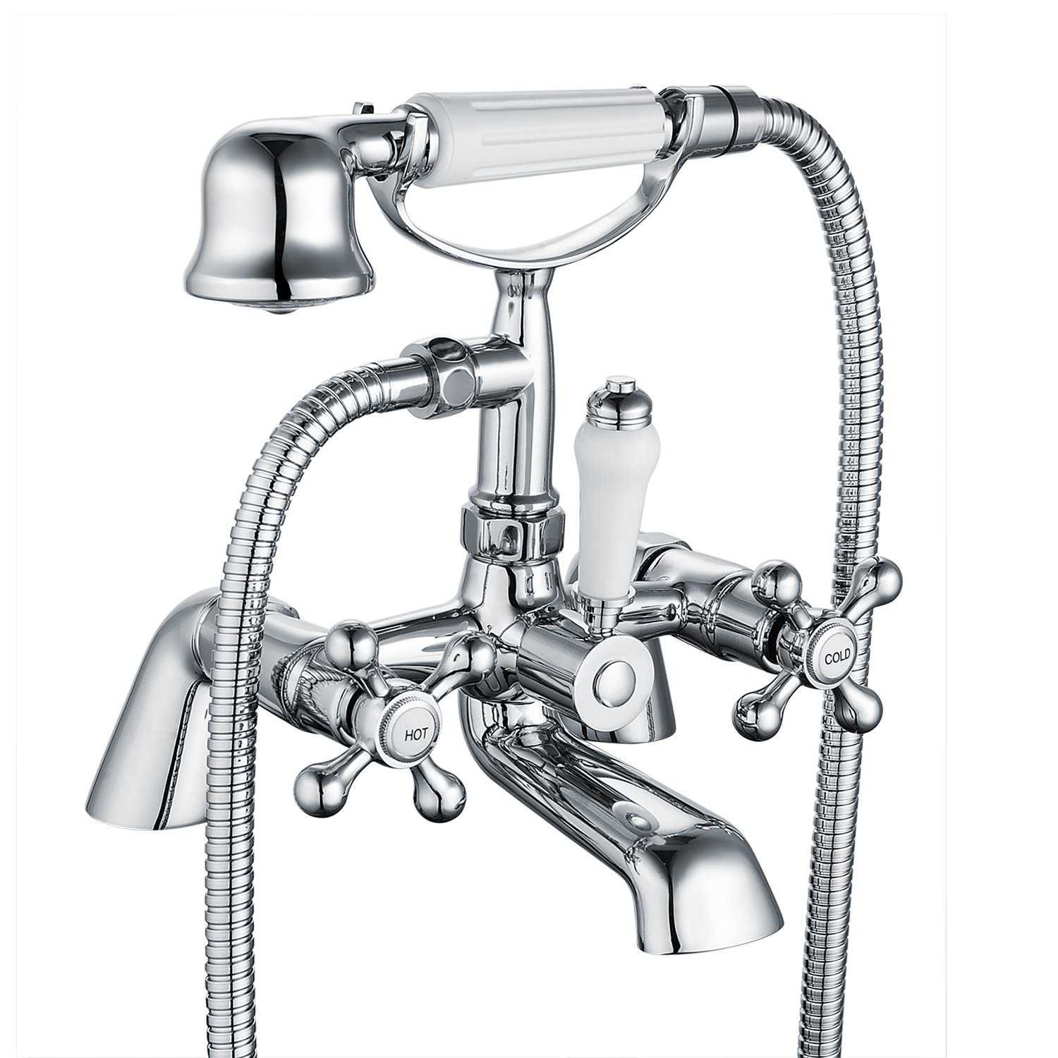 shower and bath taps amazon co uk funime victorian luxury bathroom shower taps mixer traditional shower and bath tap chrome brass