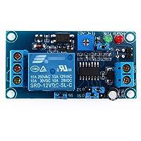 12 V DC module vertraging van het relais met timer in- en uitschakelen van de schakelaarmodule.