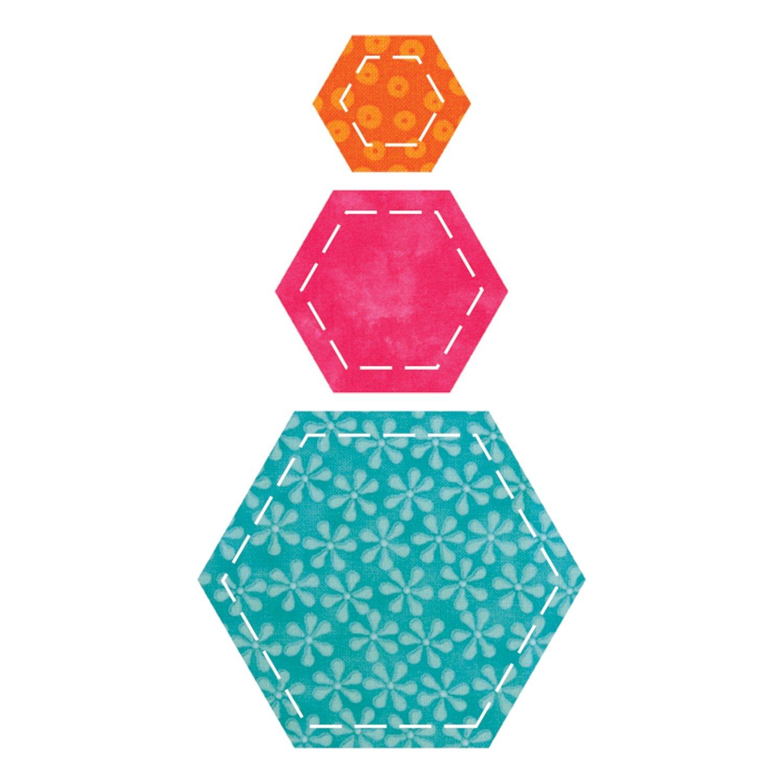 GO! Fabric Cutting Dies-Hexagons (並行輸入品) B0021F8AX6