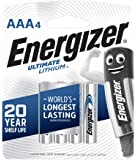 Energizer Ultimate Lithuim L92BP4 AAA (Packaging may vary), 4ct