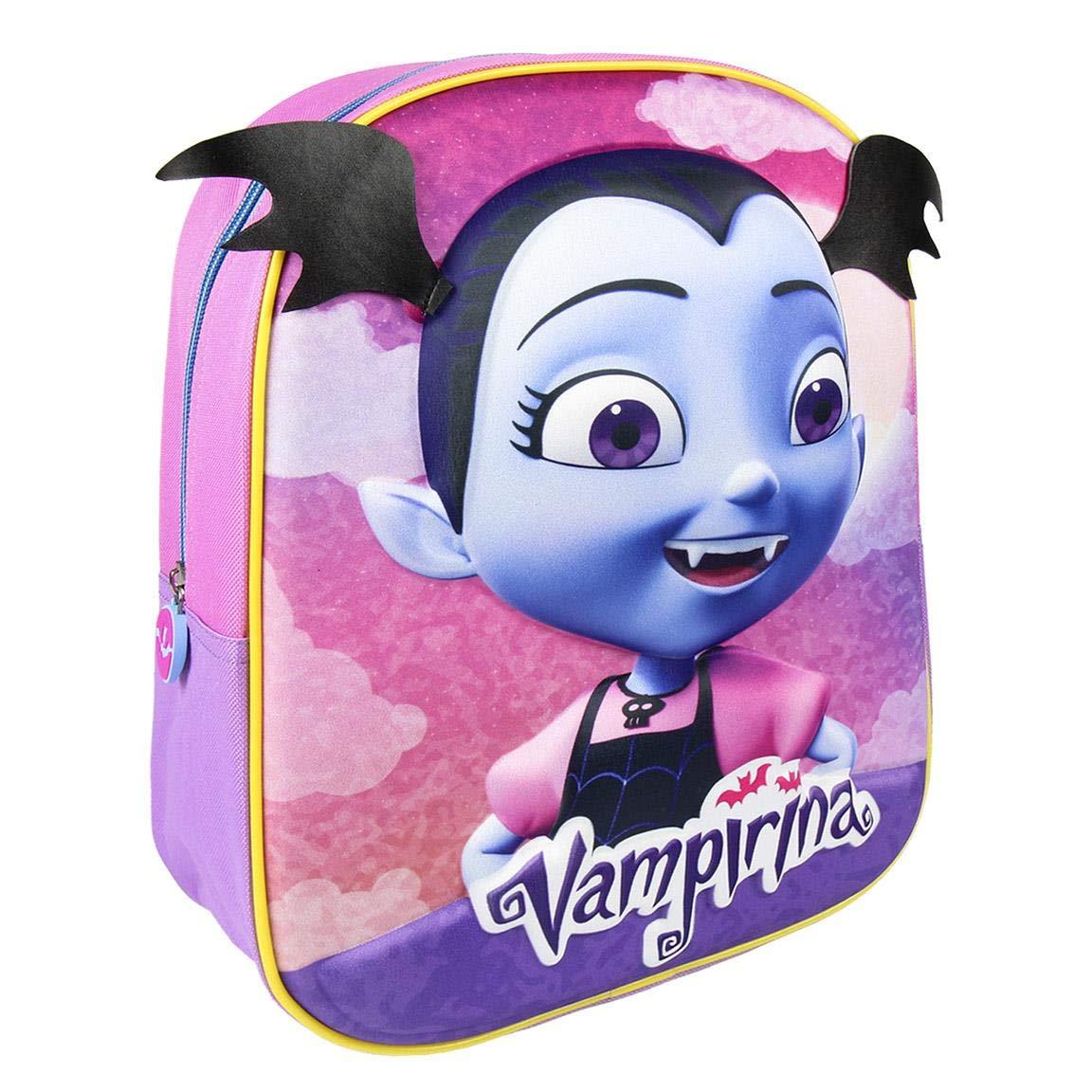 Cerdá 3D Vampirina, Mochila Infantil, 31 cm, 8.06 liters, Violeta