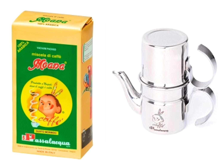 Passalacqua - Set de café para regalo (1 cafetera ...