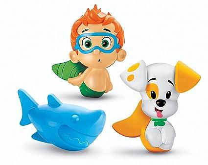 amazon com fisher price bubble guppies bath squirters nonny rh amazon com