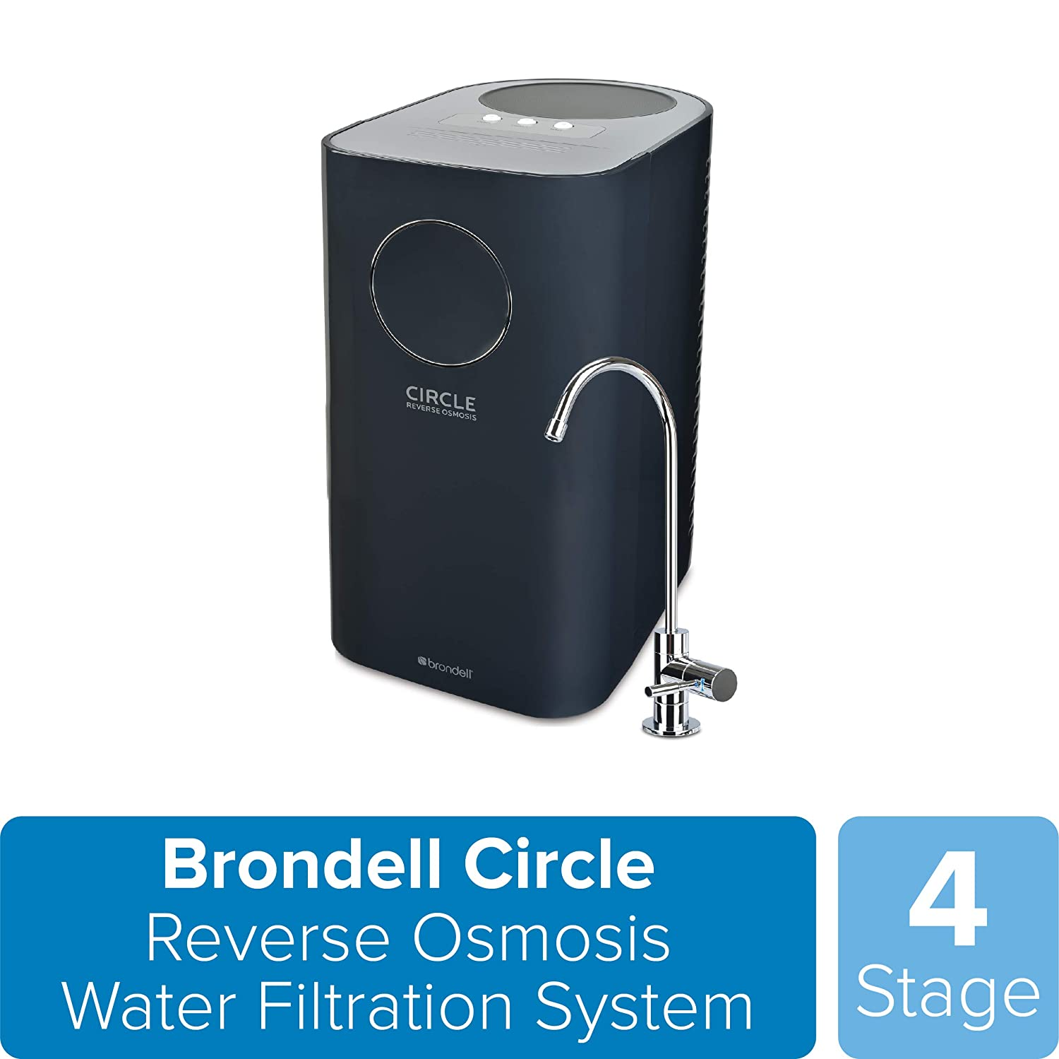 Brondell Circle 4-Stage Reverse Osmosis System