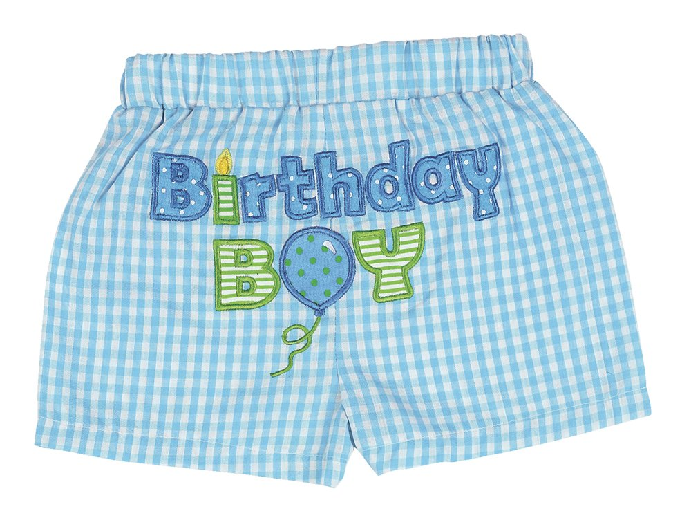 Bearington Baby His 1st Birthday Diaper Cover, Boy's First Birthday Outfit by Bearington Collection