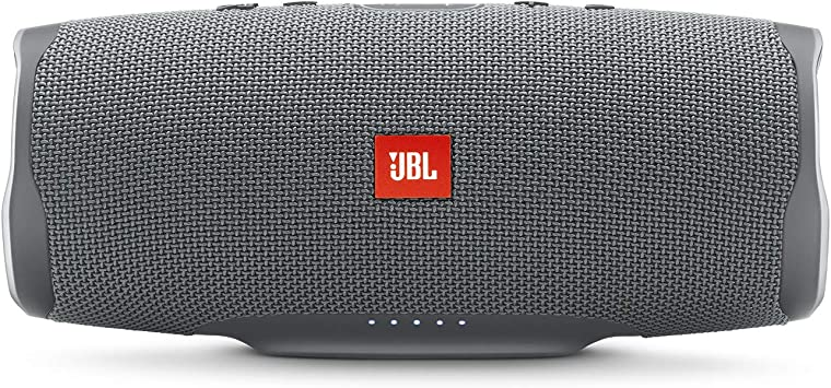 Amazon Com Jbl Charge 4 Waterproof Portable Bluetooth Speaker Gray Home Audio Theater
