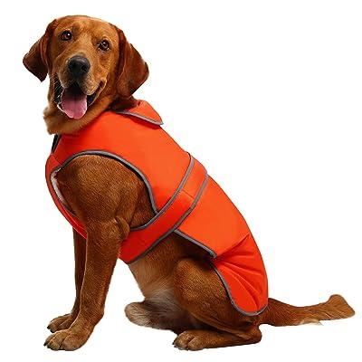 MIGOHI Reflective Waterproof Windproof Reversible Stormguard Winter Dog Coat