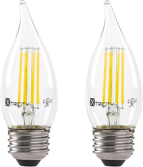 stiltalent LED Kupferkabel Struktur Tropfen Zapfen G95 1,5W E27 klar warmweiß
