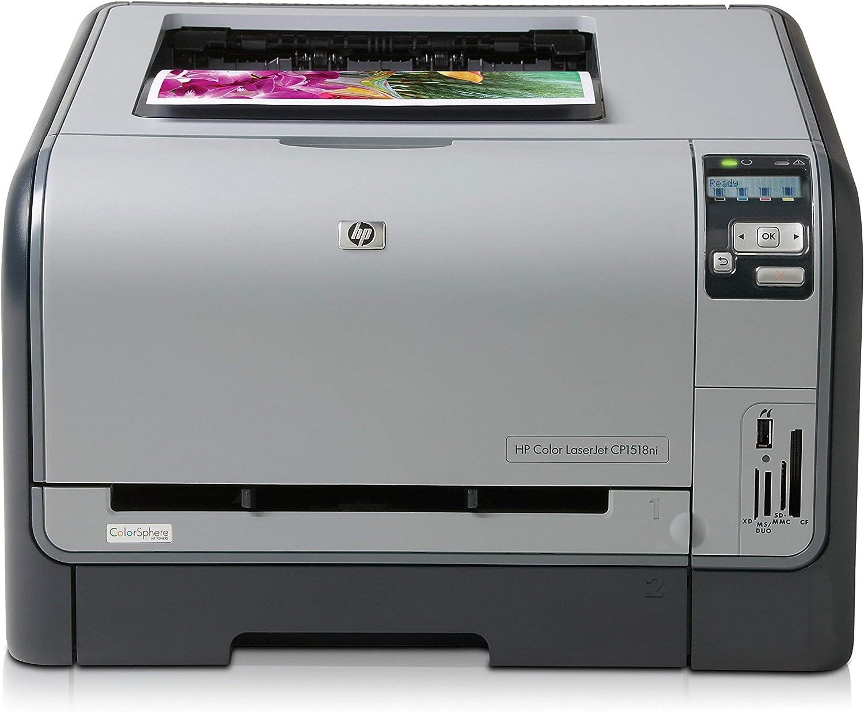 HP Color LaserJet CP-1518NI Laser Printer (CC378A) - Seller Refurb (Renewed)