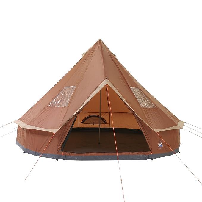 10T Outdoor Equipment Mojave 400 - Tienda de campaña Tipo Tipi para 8 Personas