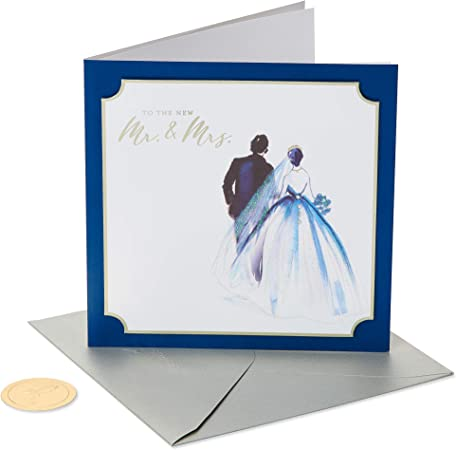 papyrus wedding card