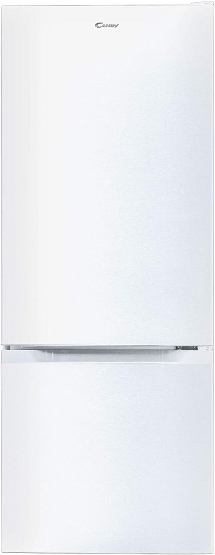Candy CMCL 5142WN - Frigorífico combi, 205 L, altura 1,44 m, Puertas reversibles, Iluminación LED, 39 dBA, Blanco
