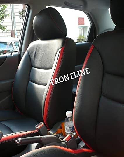 Frontline PU Leather Car Seat Cover For Hyundai Xcent
