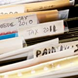 Jovitec 120 Sets Hanging Folder Tabs and Inserts