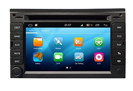 Roverone sistema de Android 6.2 pulgadas Doble Din Autoradio GPS para PEUGEOT 307 2002 - 2010 para Citroen C2 C3 2003-2009 con sistema de navegación radio ...