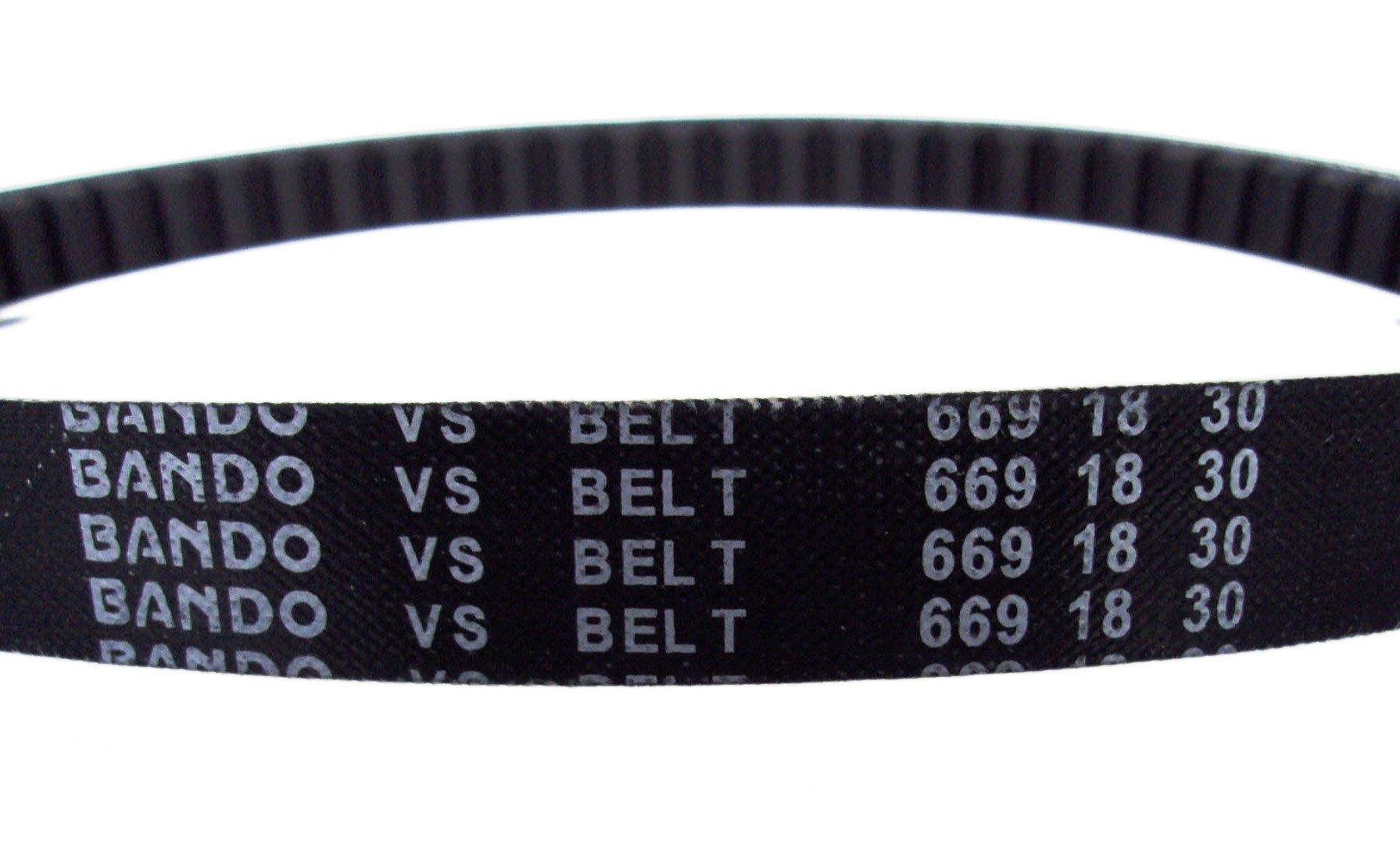 V-Belt CVT Drive Belt BANDO 669 18 30 fits GY6 50cc 4 stroke QMB139 Scooter Moped ATV
