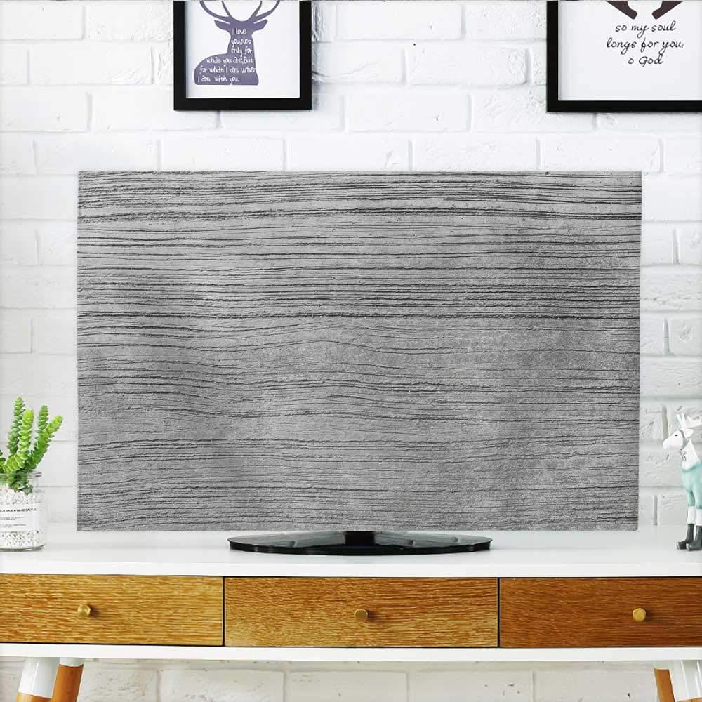ホワイトの背景にPhiliphomeがあなたのテレビの芝生を保護します。テレビの幅19 x 高さ30インチ/ テレビ32インチ。 W36 x H60 INCH/TV 65