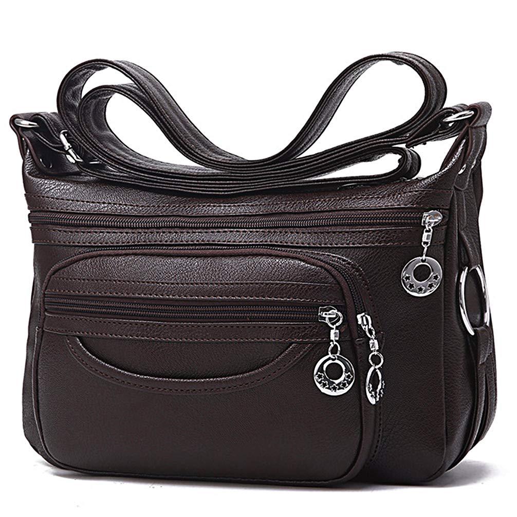 c7c9fbffc94d COCIFER Medium Crossbody Bag for Women Multi Pockets Shoulder Bags ...