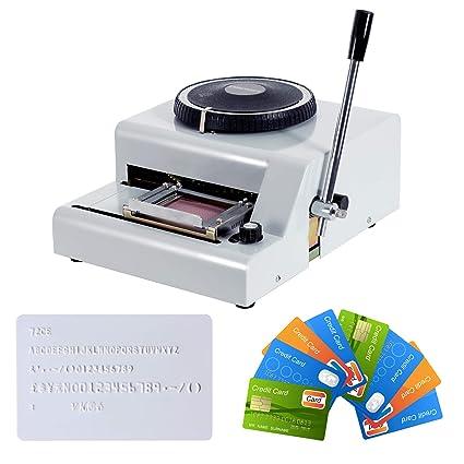 Amazon.com: Suncoo máquina de grabado en relieve letra ...