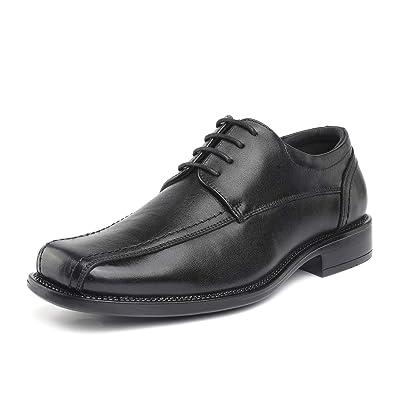 Amazon.com | Bruno Marc Men's Classic Leather Dress Oxford Shoes | Oxfords