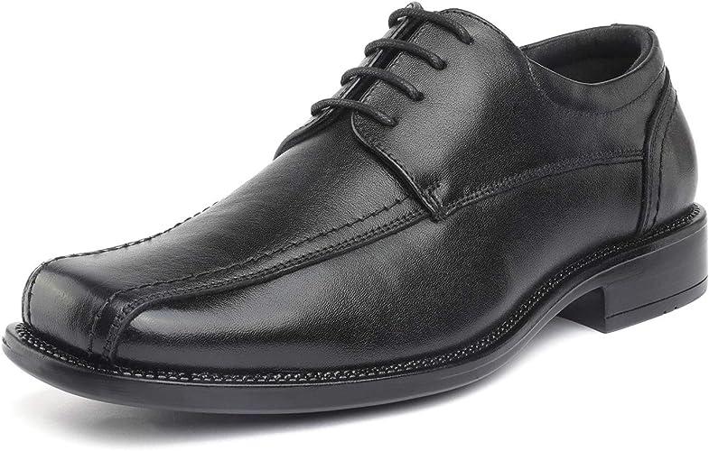 Bruno Marc Men's Black Classic Leather Dress Oxford Shoes Thomson-01 Size 10 M US