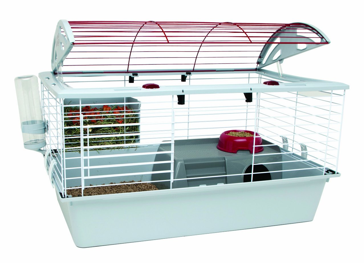 amazoncom living world deluxe pet habitat xlarge rabbit cage pet supplies