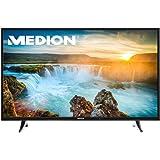 MEDION LIFE X17034 MD 31207 (49 Zoll UHD) Fernseher (Smart-TV, 4K, HD Triple Tuner, DVB-T2, HDMI, CI+, USB, WLAN, PVR, Mediaplayer) schwarz