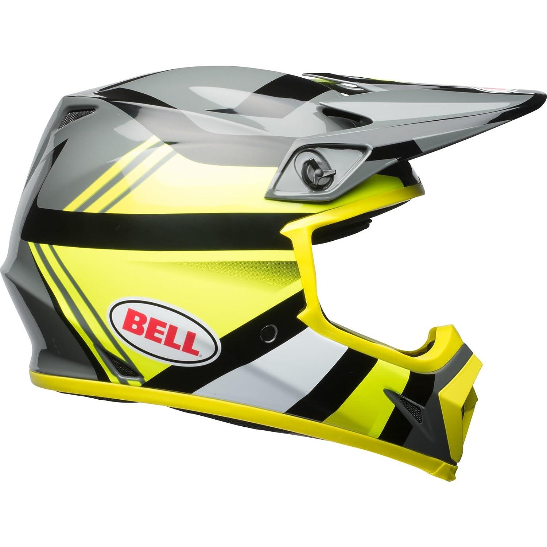 Amazon.es: Bell Cascos MX-9 MIPS, Marauder Hi Viz amarillo/negro, tamaño XS